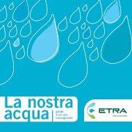 La nostra acqua - Etra Spa