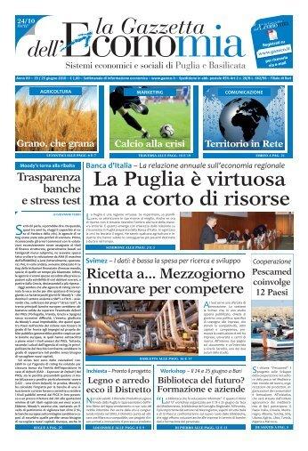 GE 24_10.indd - La Gazzetta dell'Economia