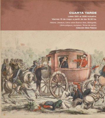 CUARTA TARDE - SARACHAGA