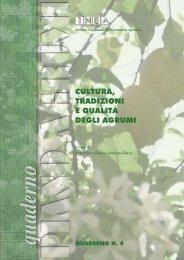 Cultura, tradizioni e qualità degli agrumi - Inea