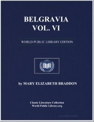 BELGRAVIA VOL. VI - World eBook Library