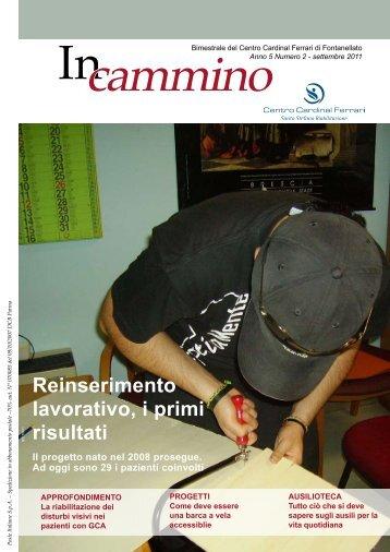 Reinserimento lavorativo, i primi risultati - Centro Cardinal Ferrari