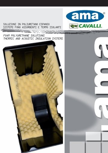 foam polyurethane solutions thermic and acoustic insulation ...