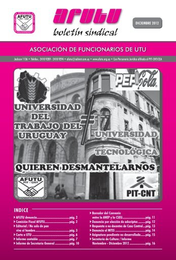 Boletín Diciembre 2012.pdf - afutu