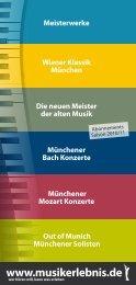 Wiener Klassik München - Musikerlebnis