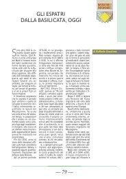 di Raffaele Anzalone - Consiglio Regionale della Basilicata