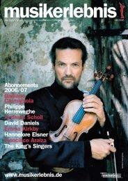 Johann Sebastian Bach: Weihnachtsoratorium Peter ... - Musikerlebnis