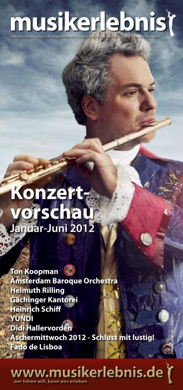 Konzertvorschau 02 2012 - Musikerlebnis