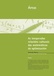 As inesperadas relacións culturais das matemáticas da optimización ...