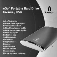 eGo™ Portable Hard Drive FireWire / USB - Iomega