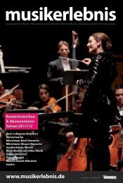 Bach Klavierkonzerte - Musikerlebnis