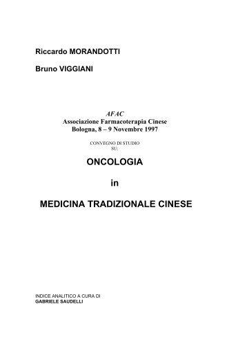 Farmacoterapia dei tumori (R. Morandotti e B ... - Alberto Lomuscio