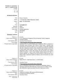Giuseppe D'Agata - DICA - Università degli Studi di Catania