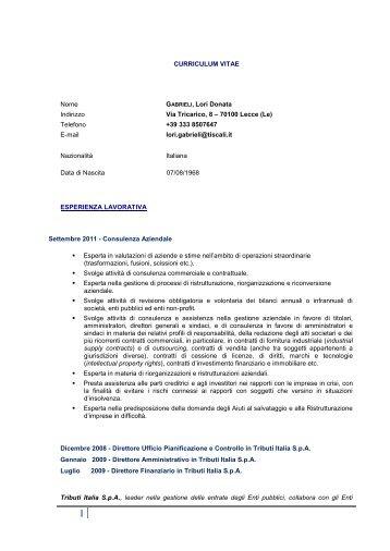 CV Lori Gabrieli - EGS Risk Management