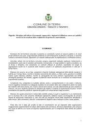 Scarica allegato - Comune di Terni
