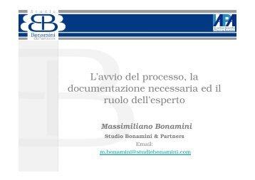 L'avvio del processo, la documentazione necessaria ed il ruolo dell ...
