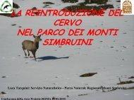 Scarica l'intervento - Parchi e Riserve naturali del Lazio