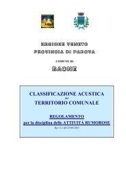 Regolamento comunale Baone rev 0.1 - Provincia di Padova