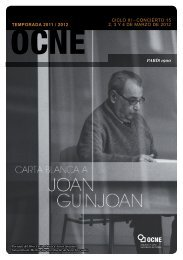C 15 Programa - Orquesta y Coro Nacionales de España