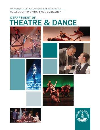 THEATRE & DANCE - University of Wisconsin - Stevens Point