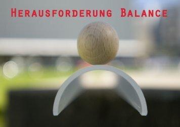 Herausforderung Balance