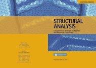 structural analysis - Programa de Doctorat en Anàlisi Estructural - UPC