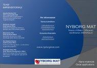 NYBORG MAT - Brochure