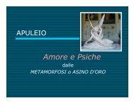 Amore e Psiche di Apuleio, Maria Grazia Pozzato - Utem.it