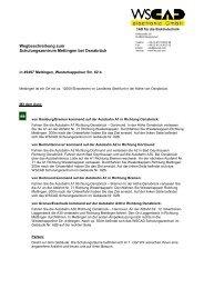 Wegbeschreibung als PDF-Dokument