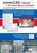 ELEKTROCAD Cabinet - Prospekt - Seite 2