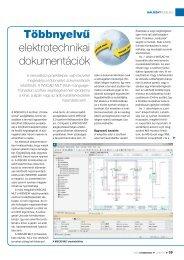 Többnyelvű elektrotechnikai dokumentációk