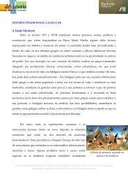Historia da dozaría galega (parte 2) - DeHistoria