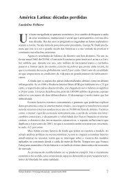 América Latina: décadas perdidas - Igadi