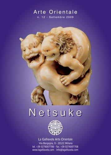 Netsuke - n. 12 - La Galliavola - Arte Orientale
