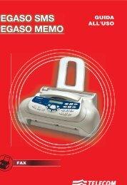 Manuale d'uso Pegaso SMS - Telecom Italia