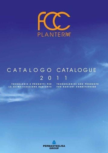 CATALOGO CATALOGUE 2 0 1 1 - FCC Planterm Video