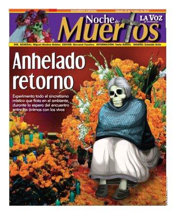 Día de Muertos - La Voz de Michoacán