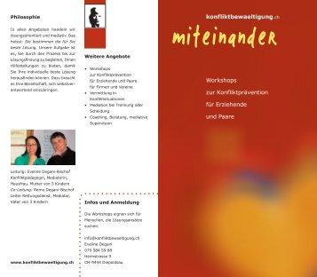 konfliktbewaeltigung.ch Workshops zur Konfliktprävention für ...