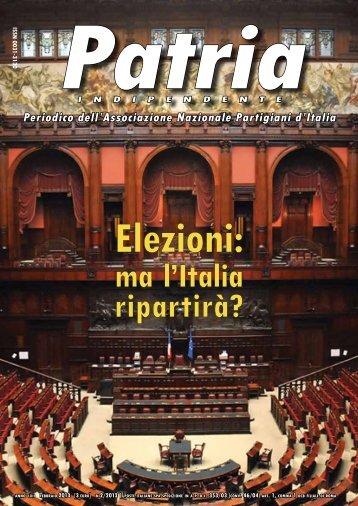 PATRIA INDIPENDENTE- Periodico dell'A.N.P.I. - PeaceLink