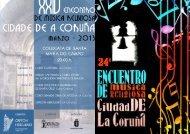 fOLLETO - 2013 - Turismo en A Coruña