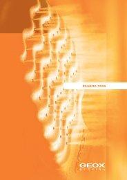 BILANCIO 2006 BILANCIO 2006 - Geox.biz