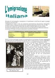 6 L'emigrazione italiana - Raianoscuola.It