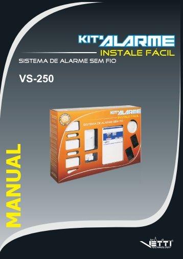 Manual Kit VS-250 I e II - Vetti