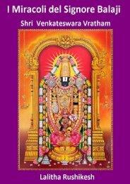 I Miracoli del Signore Balaji & Shri Venkateswara Vratham