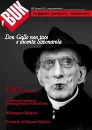 Don Gallo non tace e diventa Savonarola - BUK Modena