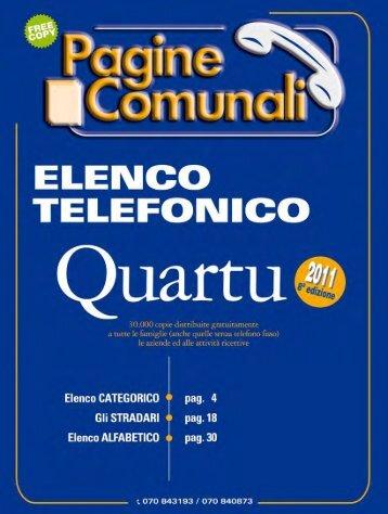 Quartu Sant'Elena - Pagine Comunali
