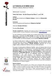 Comunicato stampa - Mercoledì 19 luglio - Provincia di Milano