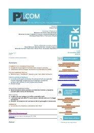 Sommario Articoli - Edk Editore Srl