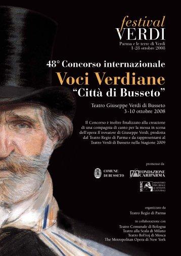 scarica la brochure (.pdf) - Teatro Regio di Parma
