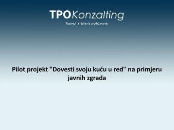 Dovesti svoju kuću u red, Oliver Fatorić - IDA